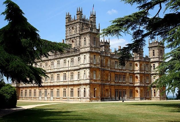 highclere castle convalescent home diana overbey. Black Bedroom Furniture Sets. Home Design Ideas