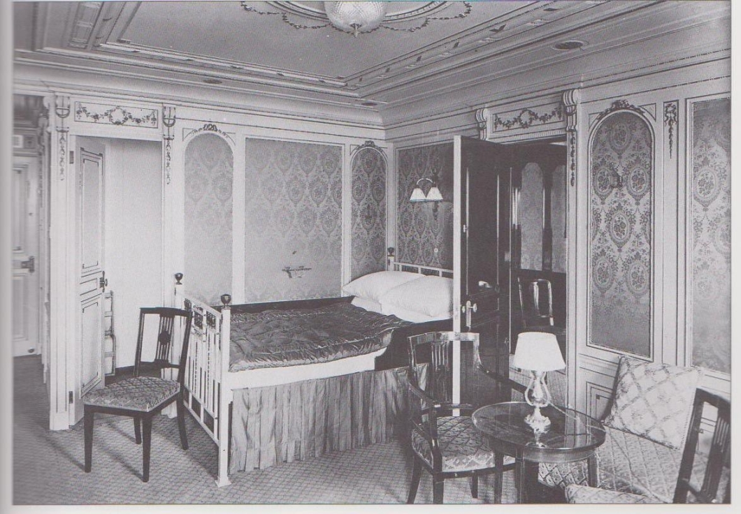Titanic 2nd Class Bedrooms