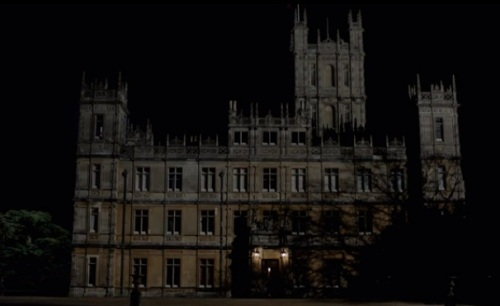 Downton at night