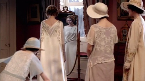 Edith's wedding gown
