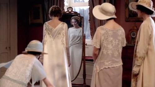 Edith's wedding gown