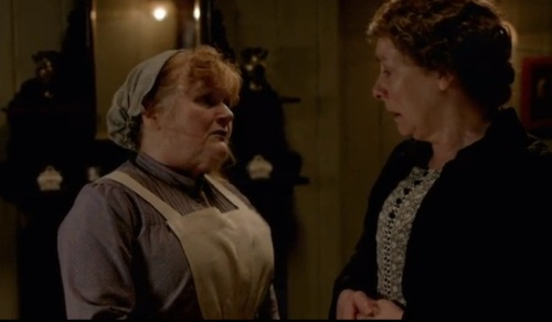Mrs. Patmore & Mrs. Hughes