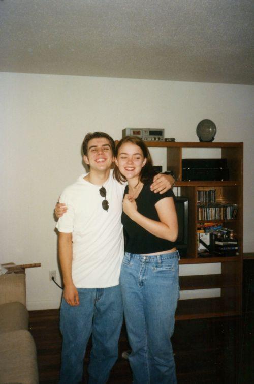 Amber & her friend David